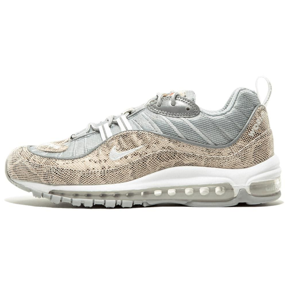 Nike x Supreme Air Max 98 'Cream-Reflect Silver' - Kick Game