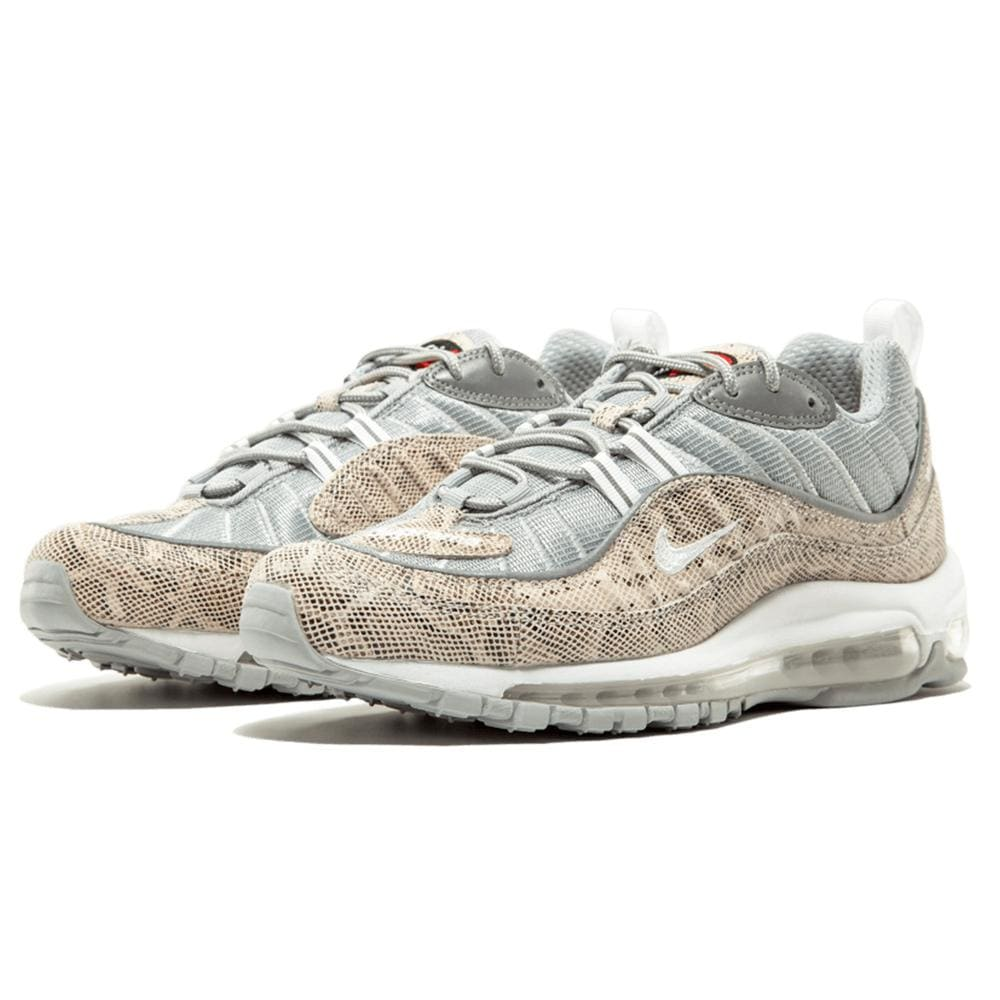 new product f9f85 21f3b Nike x Supreme Air Max 98 'Cream-Reflect Silver'