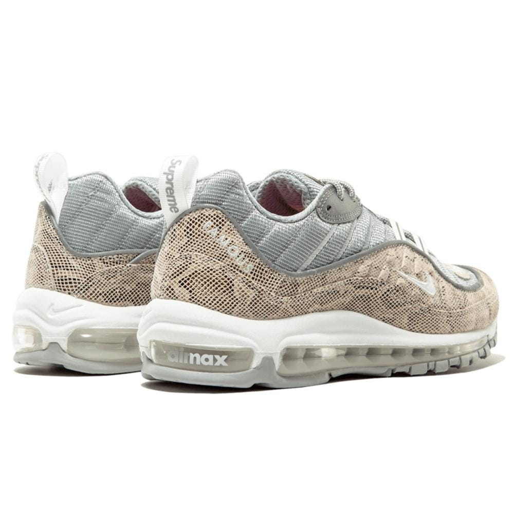 new product 69fb7 0d4f6 Nike x Supreme Air Max 98 'Cream-Reflect Silver'
