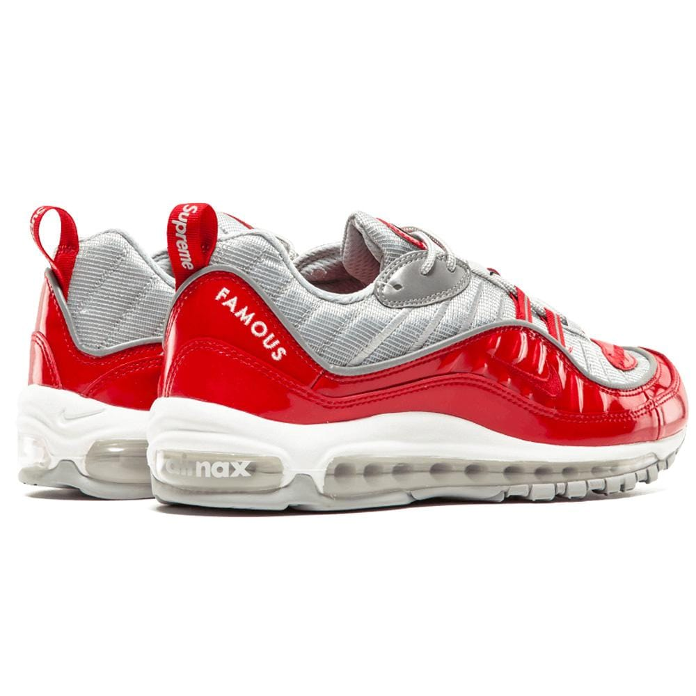 Nike x Supreme Air Max 98 'Varsity Red' - Kick Game