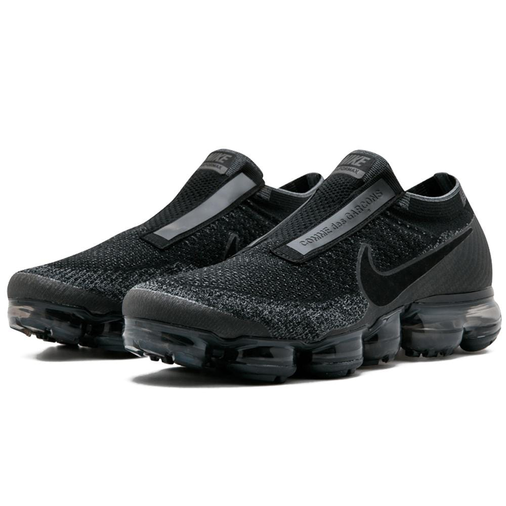 2019 France CDG x Nike Air VaporMax Flyknit 2018 Black Mens