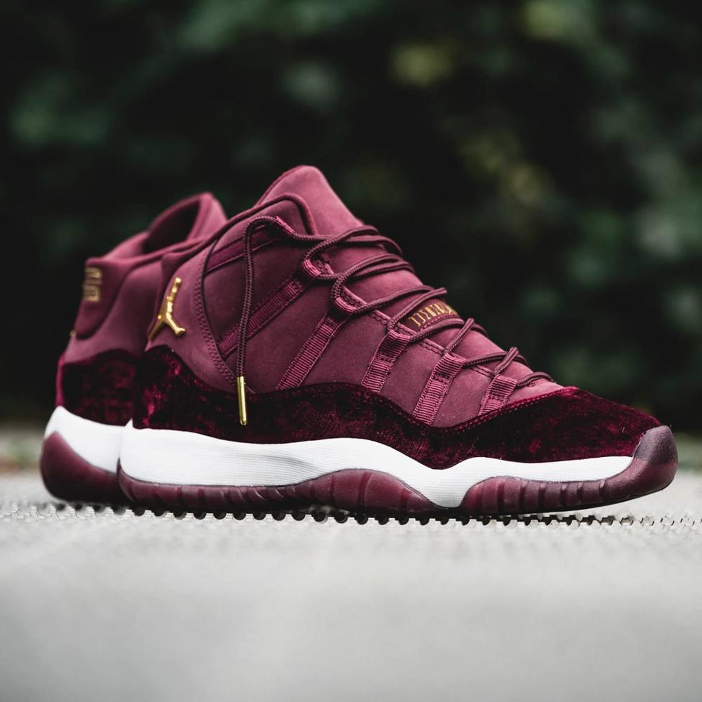 check out exclusive shoes buying new Air Jordan 11 Retro GG Heiress Velvet