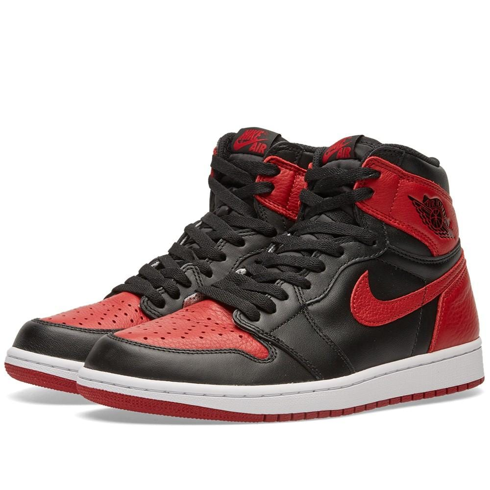 Air Jordan 1 Retro High OG Bred 2016  Banned - Kick Game