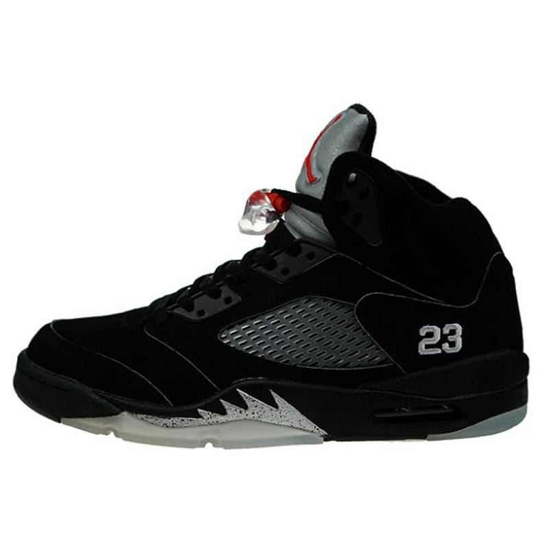 Air Jordan 5 Retro 'Black Metallic Silver' - Kick Game