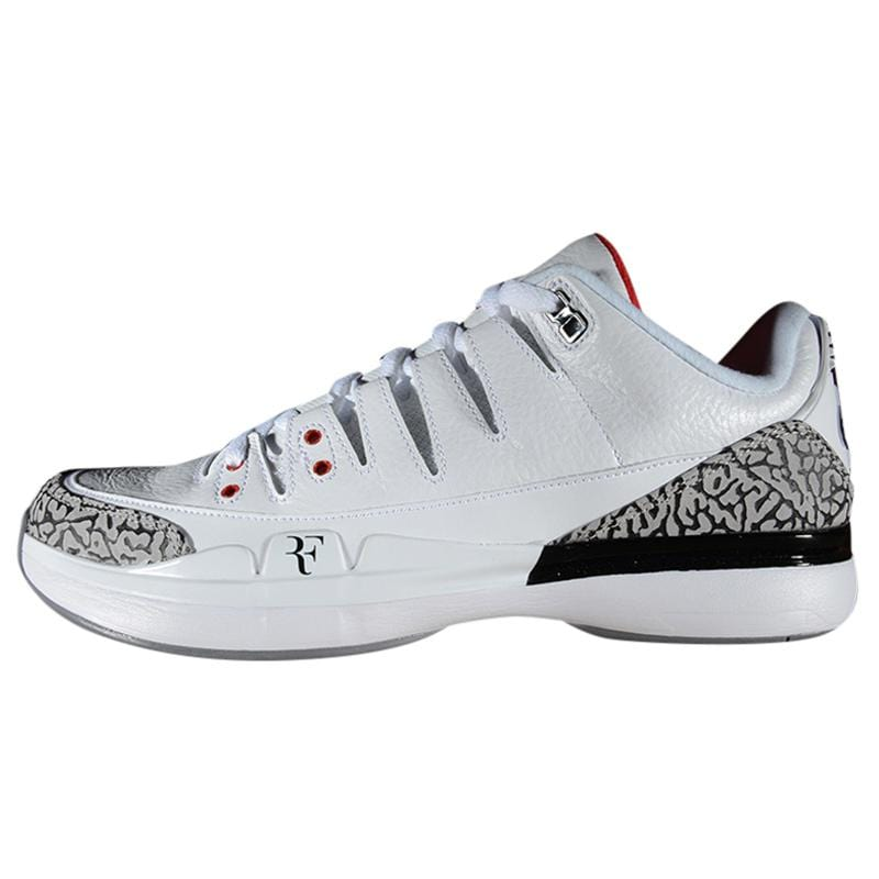 Air Jordan 3 x Nike Zoom Vapor Tour 9 White - Kick Game