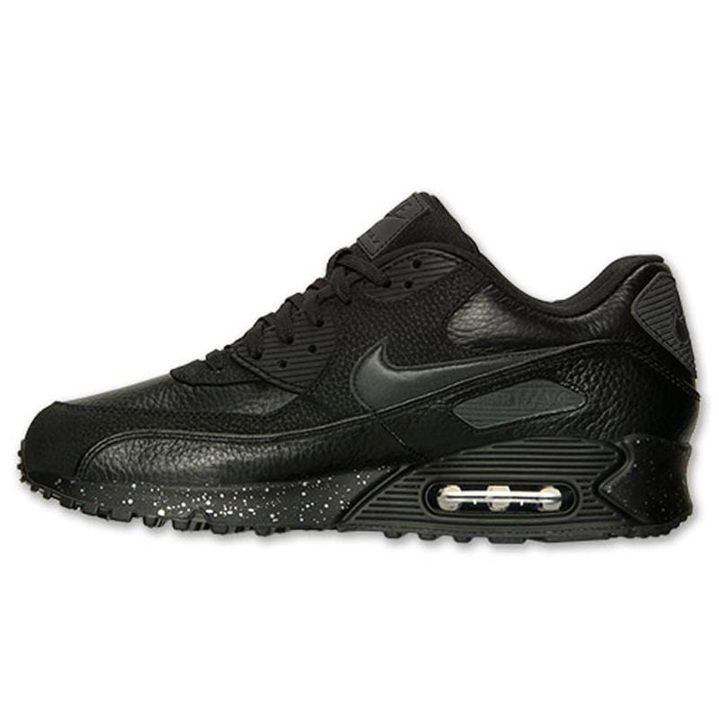 Nike Air Max 90 Premium Black-Metallic Silver