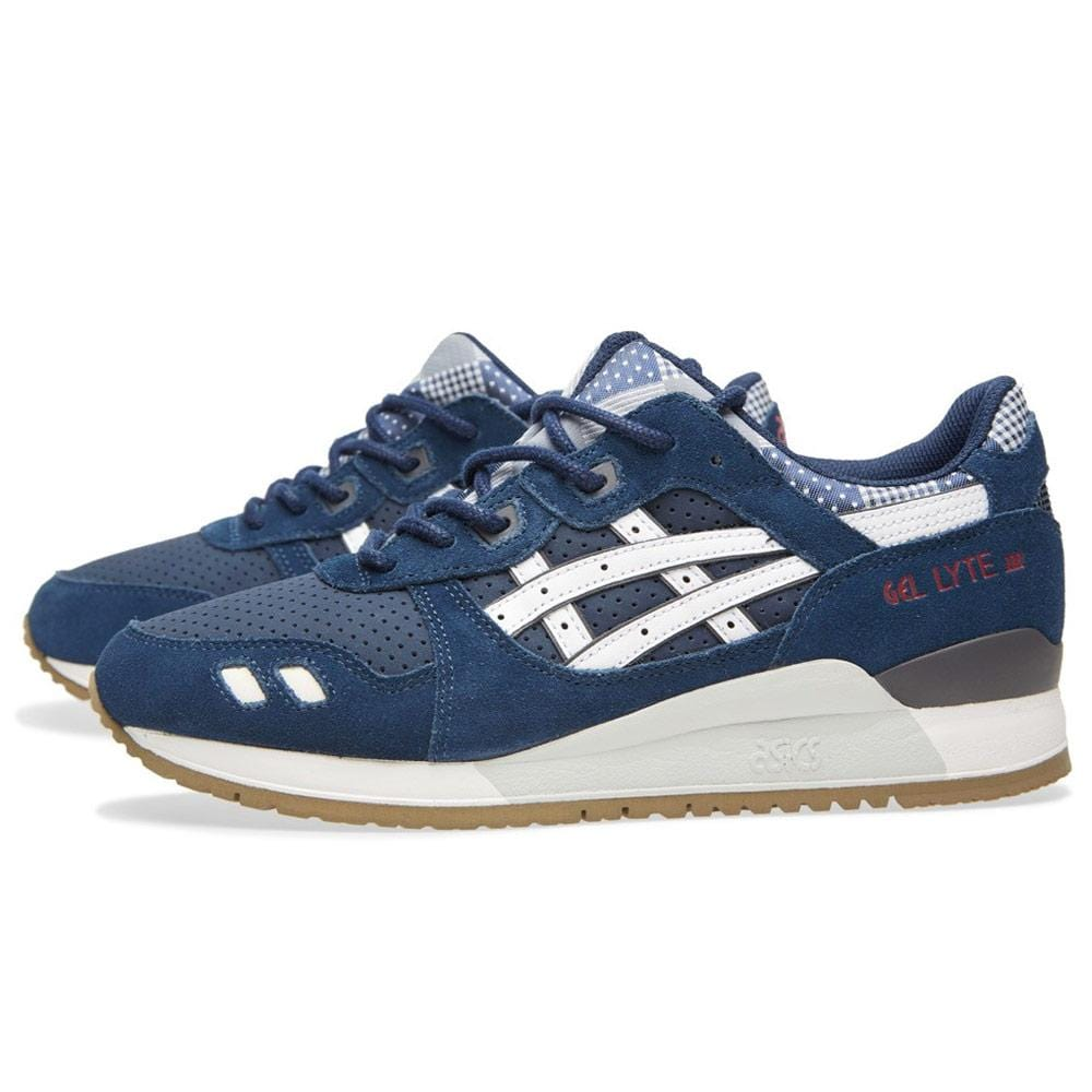navy blue asics
