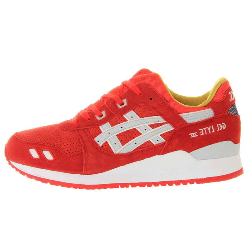 ASICS Gel Lyte III Fiery Red Suede Xmas - Kick Game