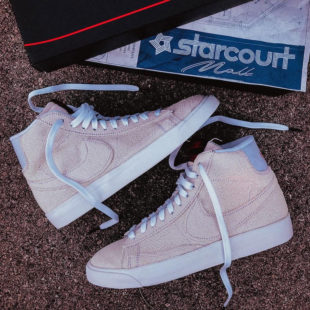 Stranger Things x Nike Blazer Mid QS 'Upside Down' - Kick Game