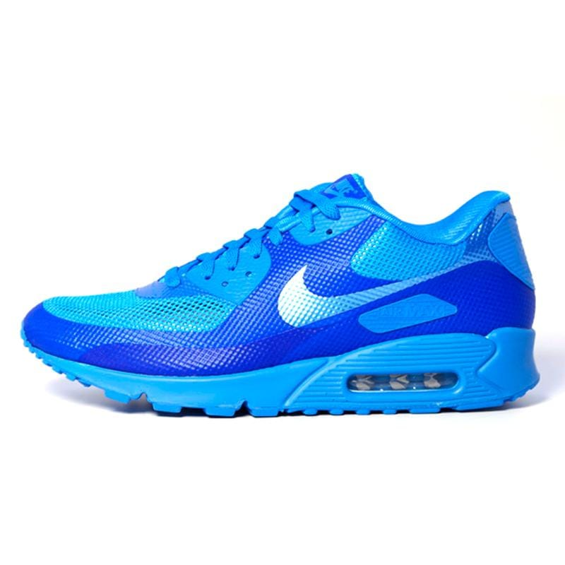 "Nike Air Max 90 Hyperfuse ""Blue Glow"" - Kick Game"