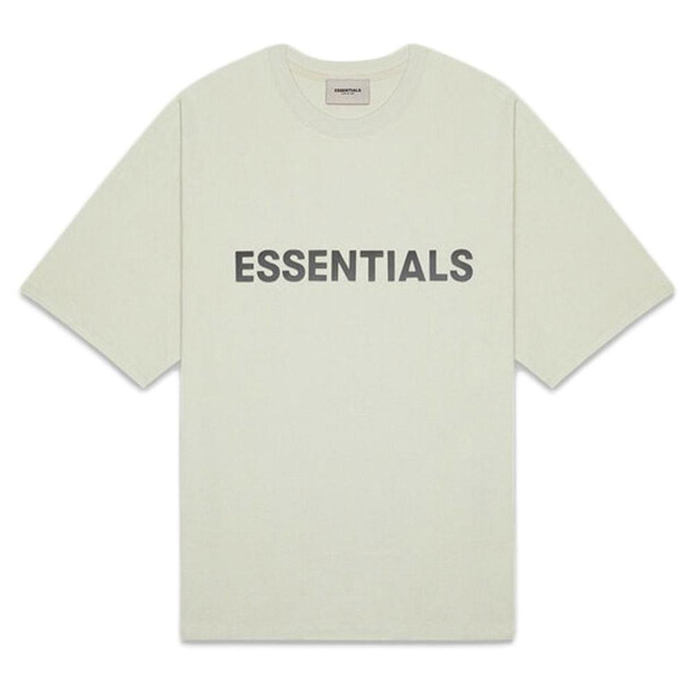 FEAR OF GOD ESSENTIALS 3D Silicon Applique Boxy T-Shirt Alfalfa Sage - Kick Game