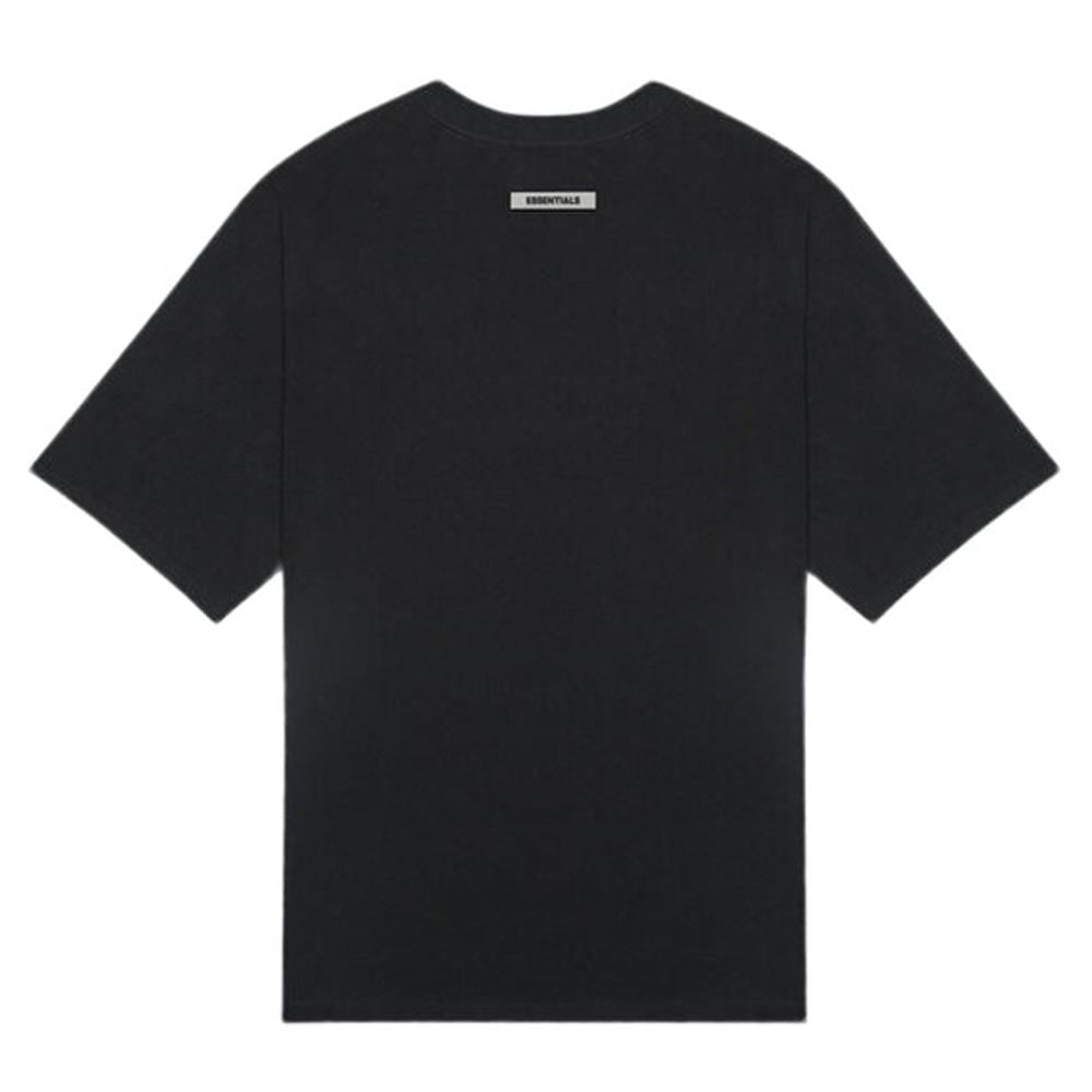 FEAR OF GOD ESSENTIALS 3D Silicon Applique Boxy T-Shirt Dark Slate/Stretch Limo/Black - Kick Game