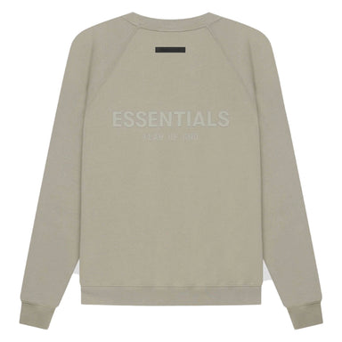 FEAR OF GOD ESSENTIALS Pull-Over Crewneck (SS21) Moss/Goat - Kick Game