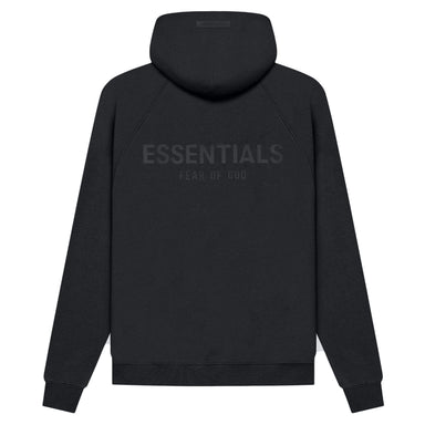 FEAR OF GOD ESSENTIALS Pull-Over Hoodie (SS21) Black/Stretch Limo - Kick Game