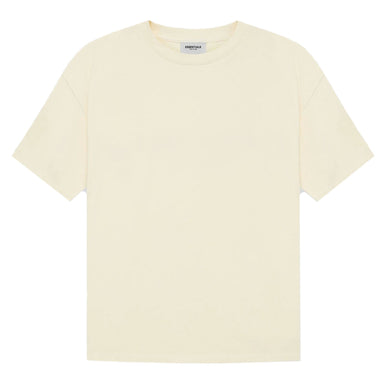 FEAR OF GOD ESSENTIALS T-shirt (SS21) Cream/Buttercream - Kick Game