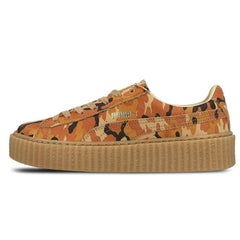 new concept 98187 008ee Rihanna x PUMA Suede Creeper Orange Camo – Kick Game