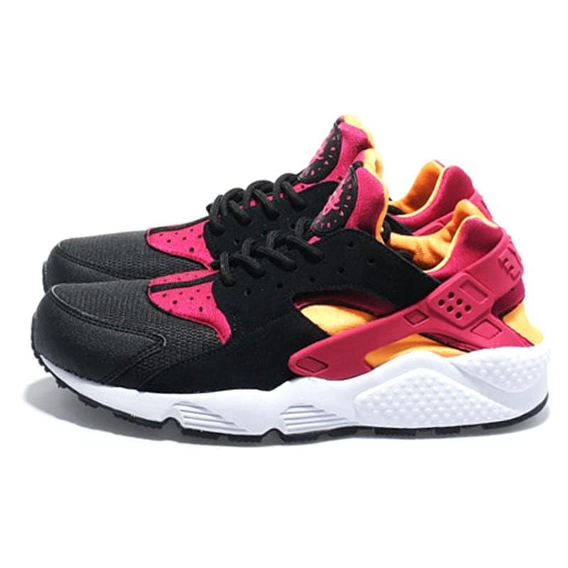 Nike Huarache LE 'Black-Laser Orange-Fuchsia' - Kick Game