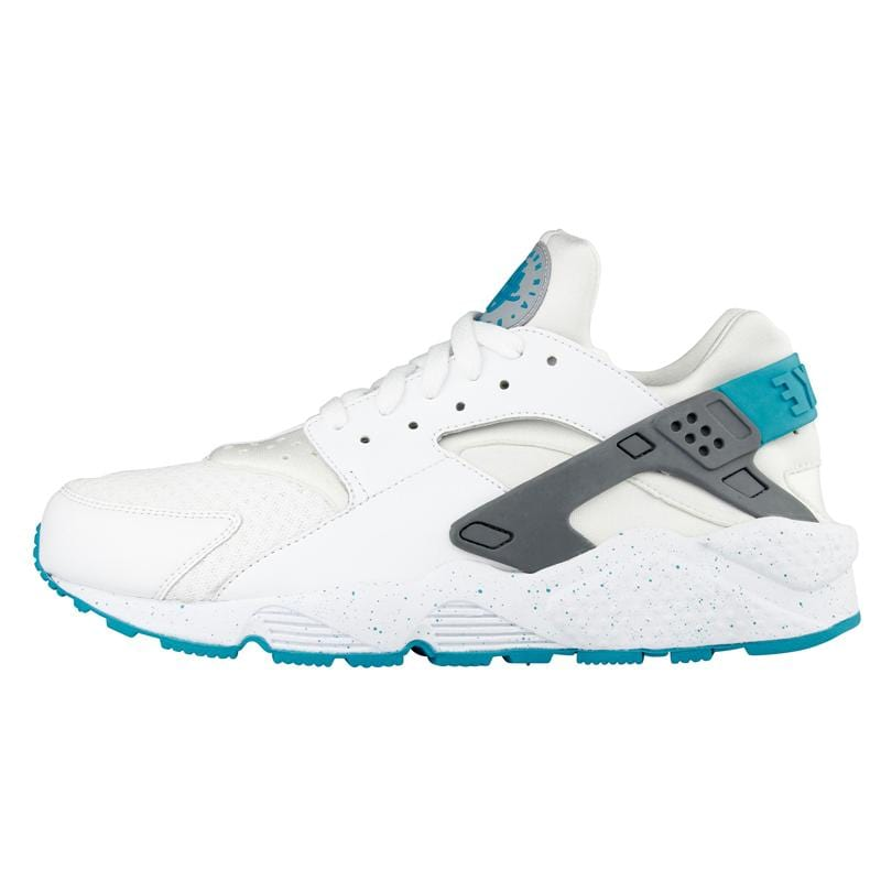Nike Huarache 'White-Turbo Green-Wolf Grey' - Kick Game