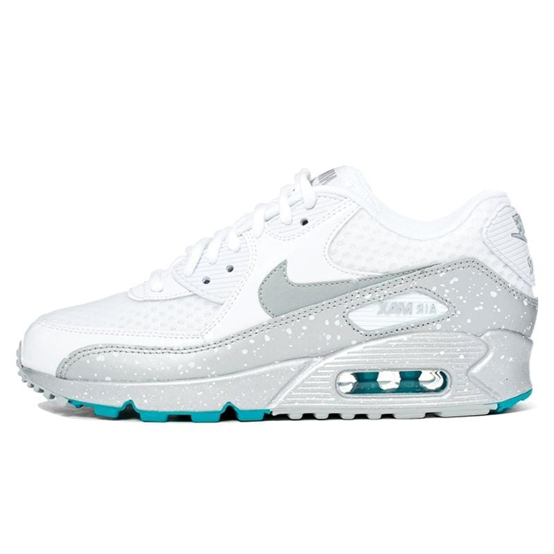 Nike Air Max 90 White-Silver - Kick Game