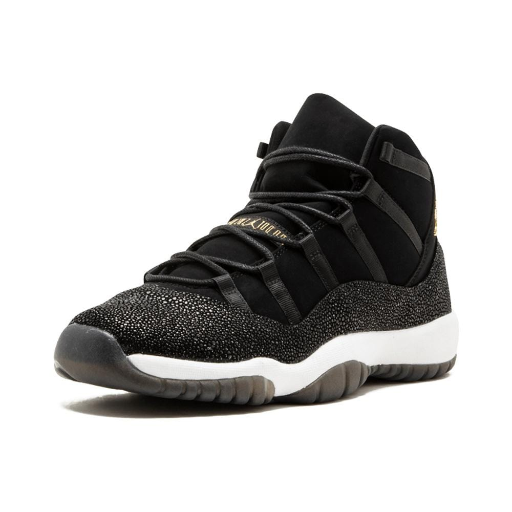 Air Jordan 11 HC Heiress GG Black-Metallic Gold - Kick Game