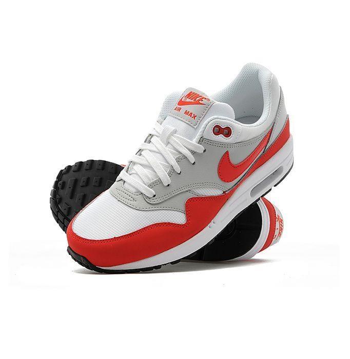 NikeAir Max 1 Junior White-Pimento-Black
