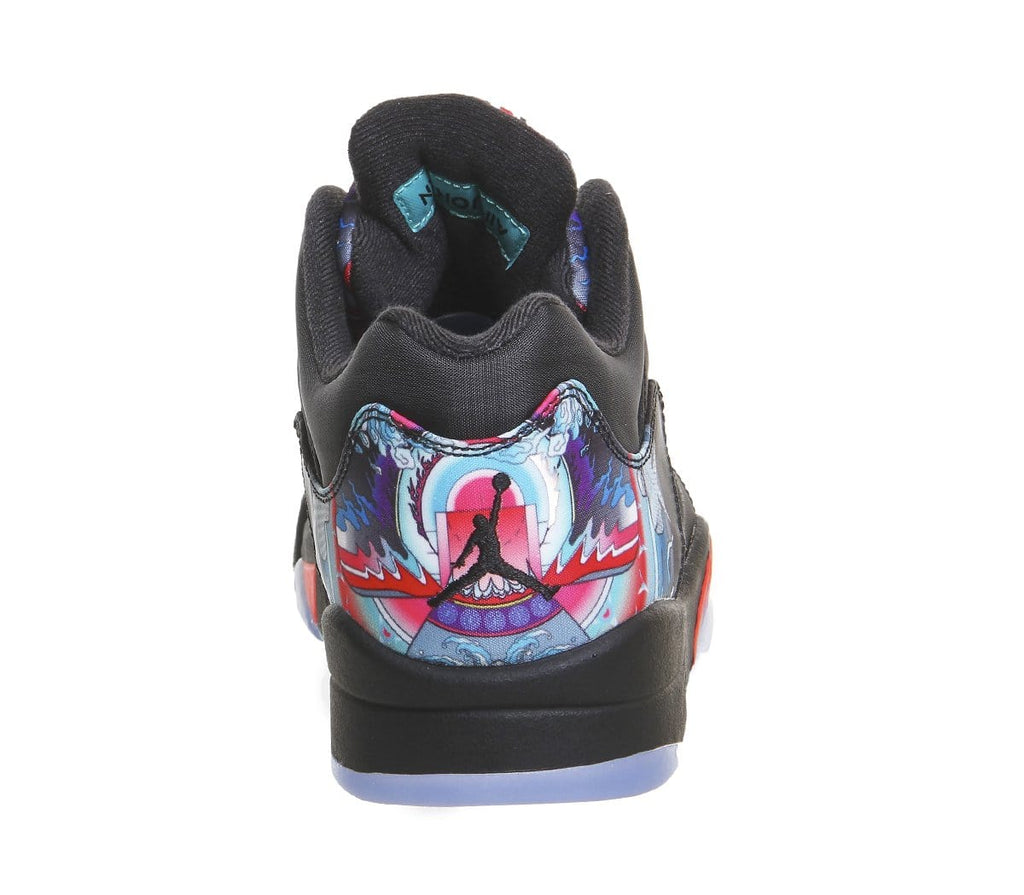Air Jordan 5 Retro Low Black Crimson 'CNY' - Kick Game
