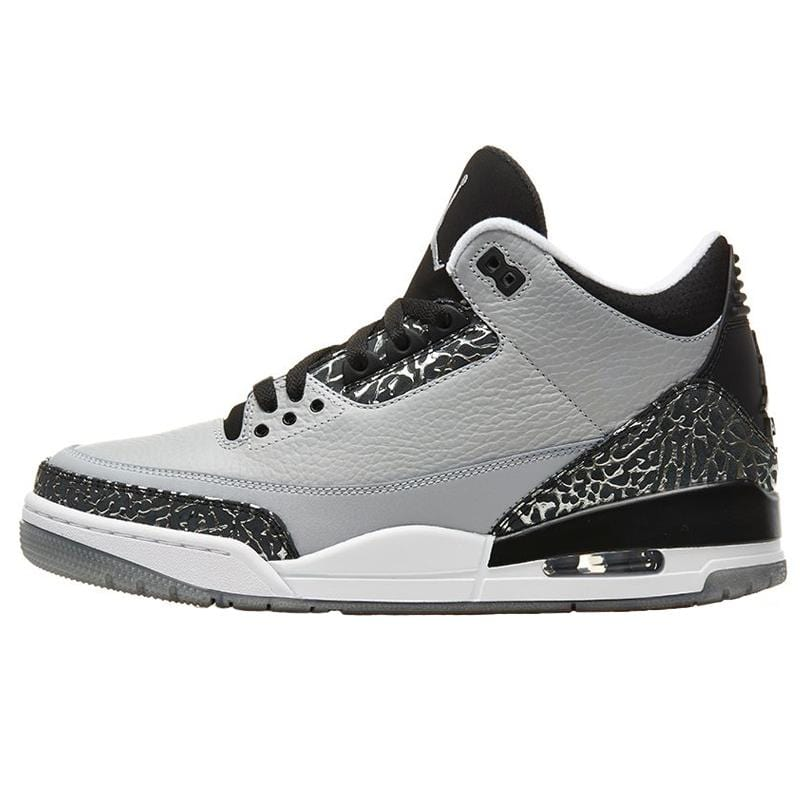 Air Jordan III (3) Wolf Grey - Kick Game