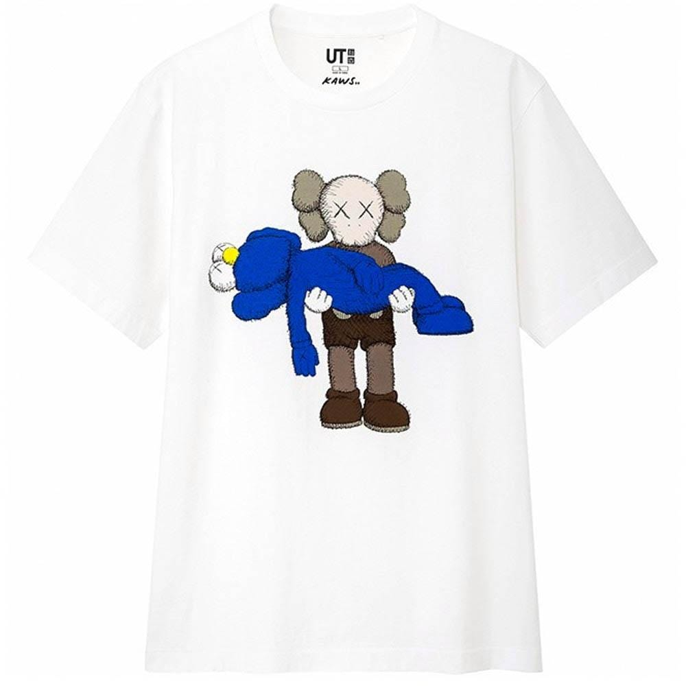 KAWS x Uniqlo Gone Tee White - Kick Game