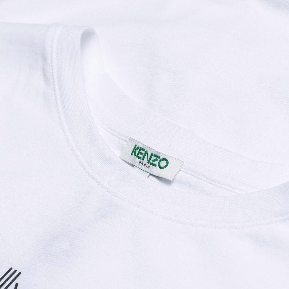 Kenzo Logo T-Shirt White - Kick Game