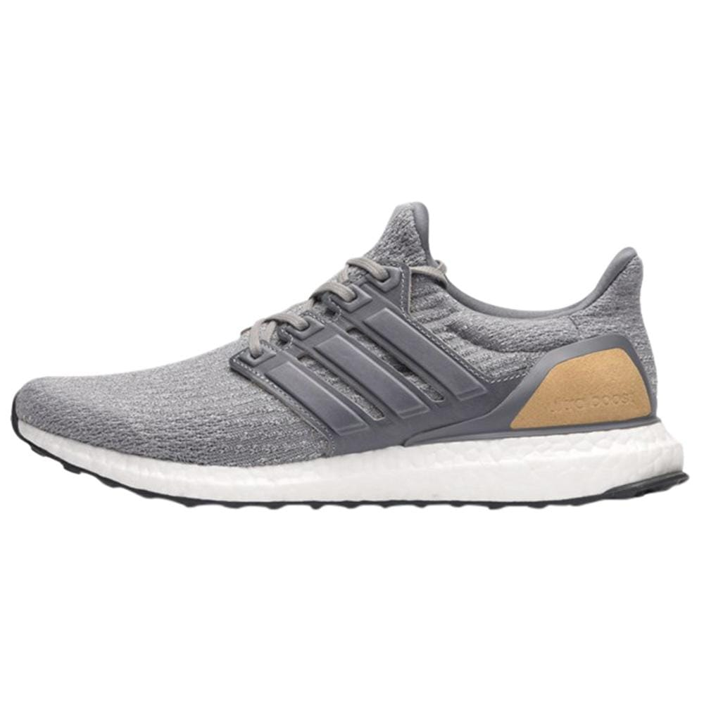new style 4ae28 e9073 adidas Ultra Boost 3.0 LTD Mid Grey Leather Cage