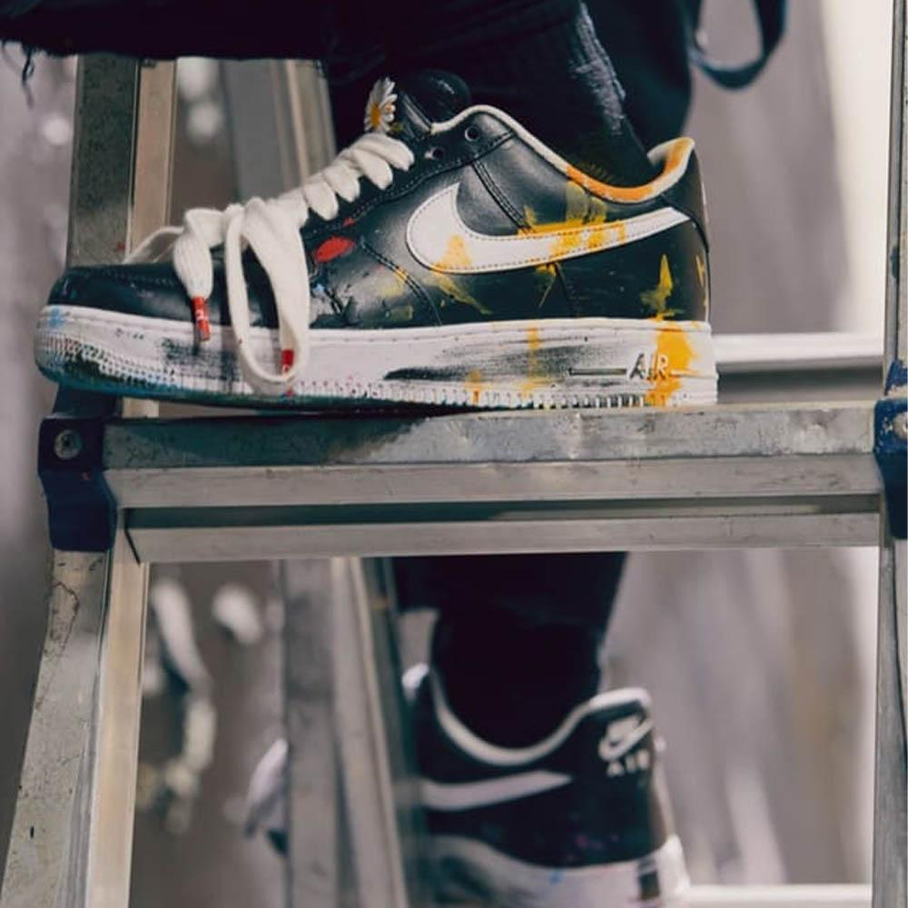 G-Dragon x Nike Air Force 1 '07 'Para-Noise' - Kick Game