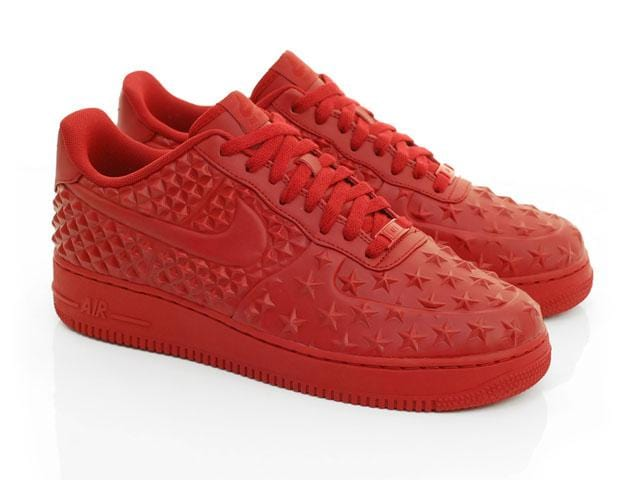outlet store 4ae97 ca3b3 Nike Air Force 1 Low LV8 VT Star Independence Day Gym Red