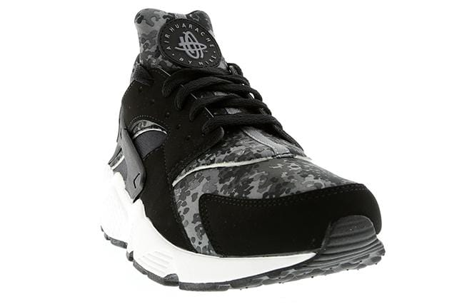 Nike Air Huarache Black Grey Camo - Kick Game