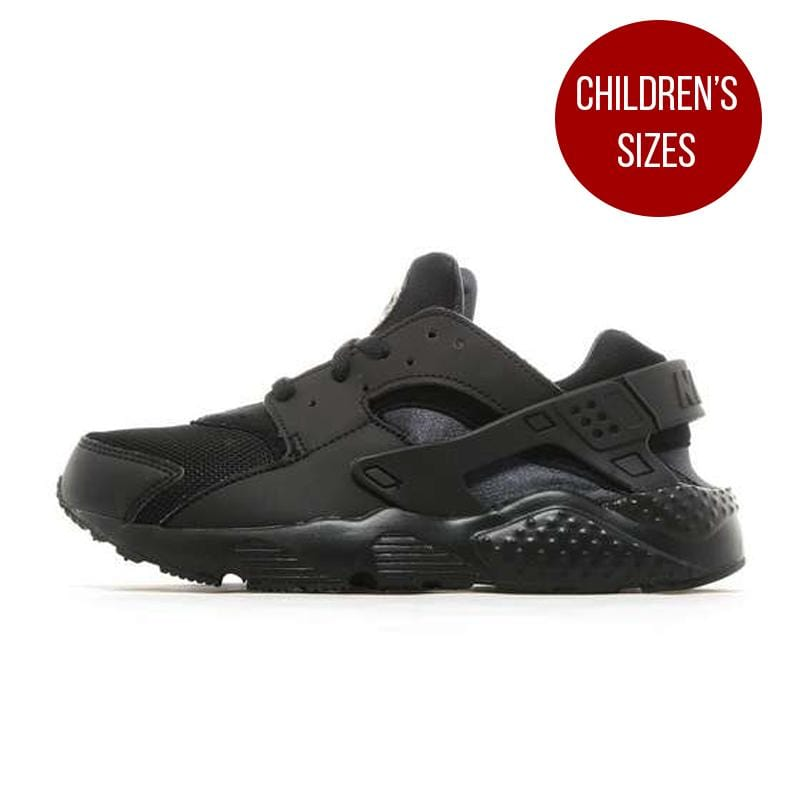 "Nike Air Huarache Children ""Triple Black"" - Kick Game"