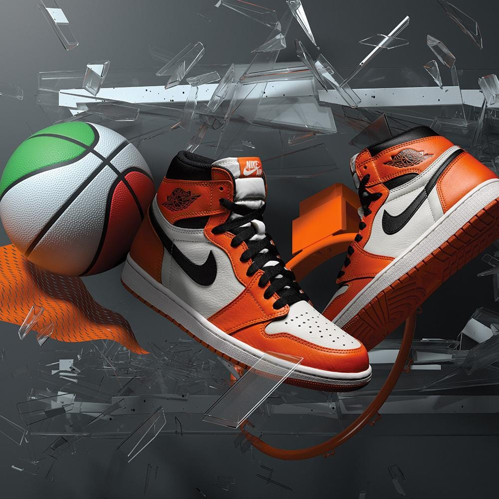 Air Jordan 1 Retro High OG (GS) Reverse Shattered Backboard - Kick Game