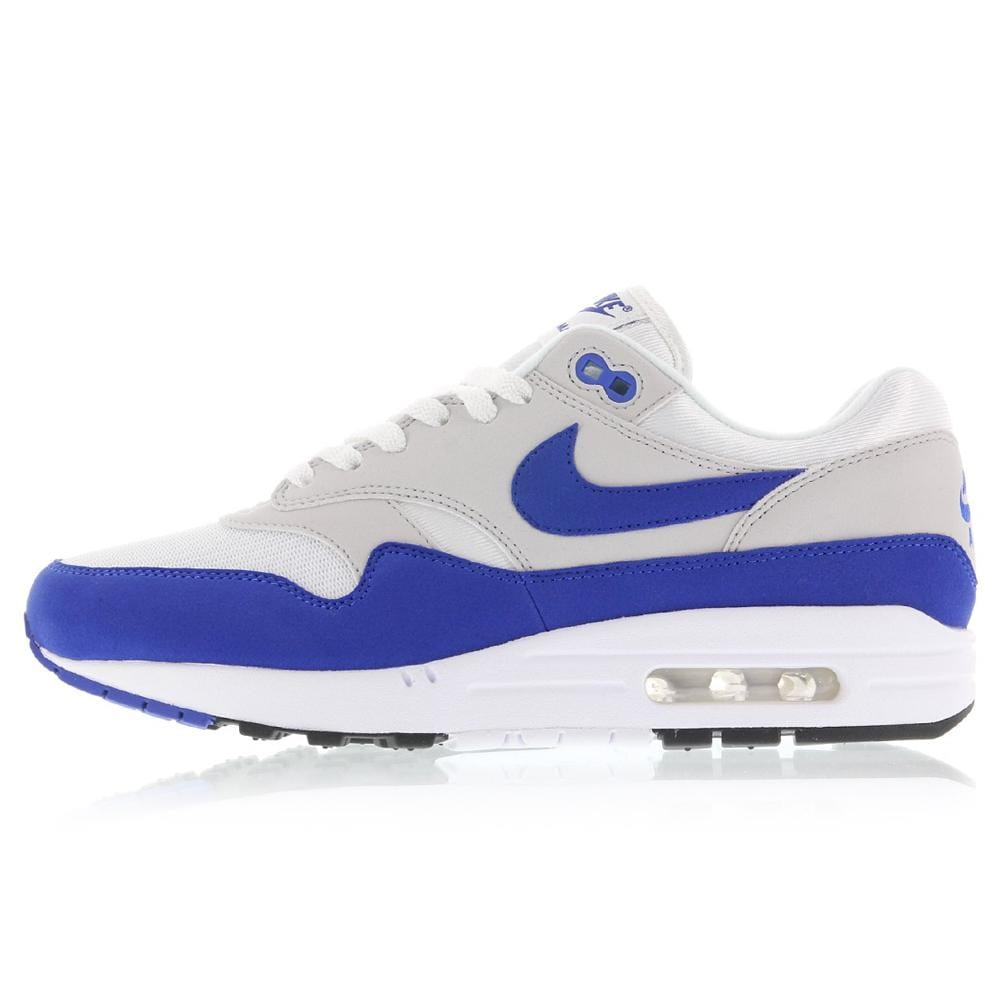 taille 40 27eef 6726a Nike Air Max 1 OG Anniversary White-Game Royal