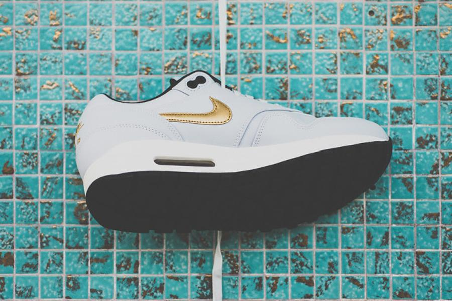 "Nike Air Max 1 Premium QS ""Gold Hypervenom"" - Kick Game"