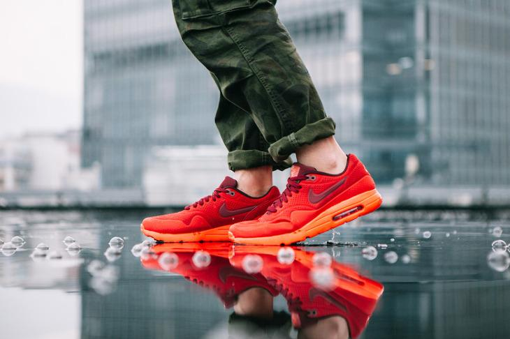 Nike Air Max 1 Ultra Moire 'Gym Red-Orange'