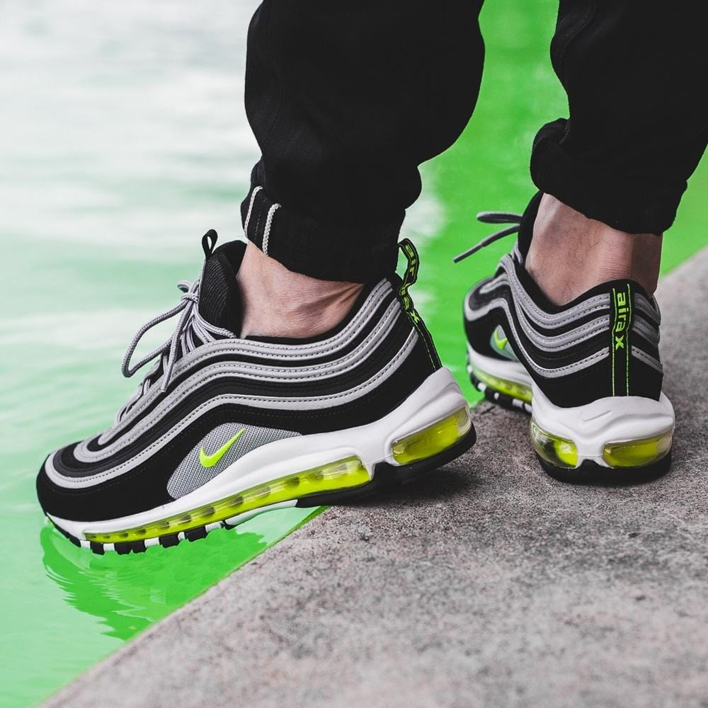 official photos 1bb63 693ca Nike Air Max 97 Black-Neon OG Japan