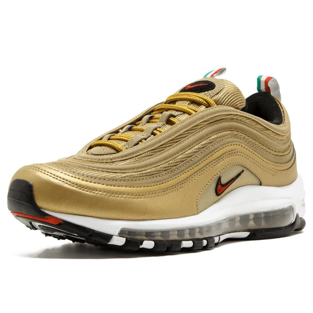 "Nike Air Max 97 OG Gold ""Italy"" - Kick Game"