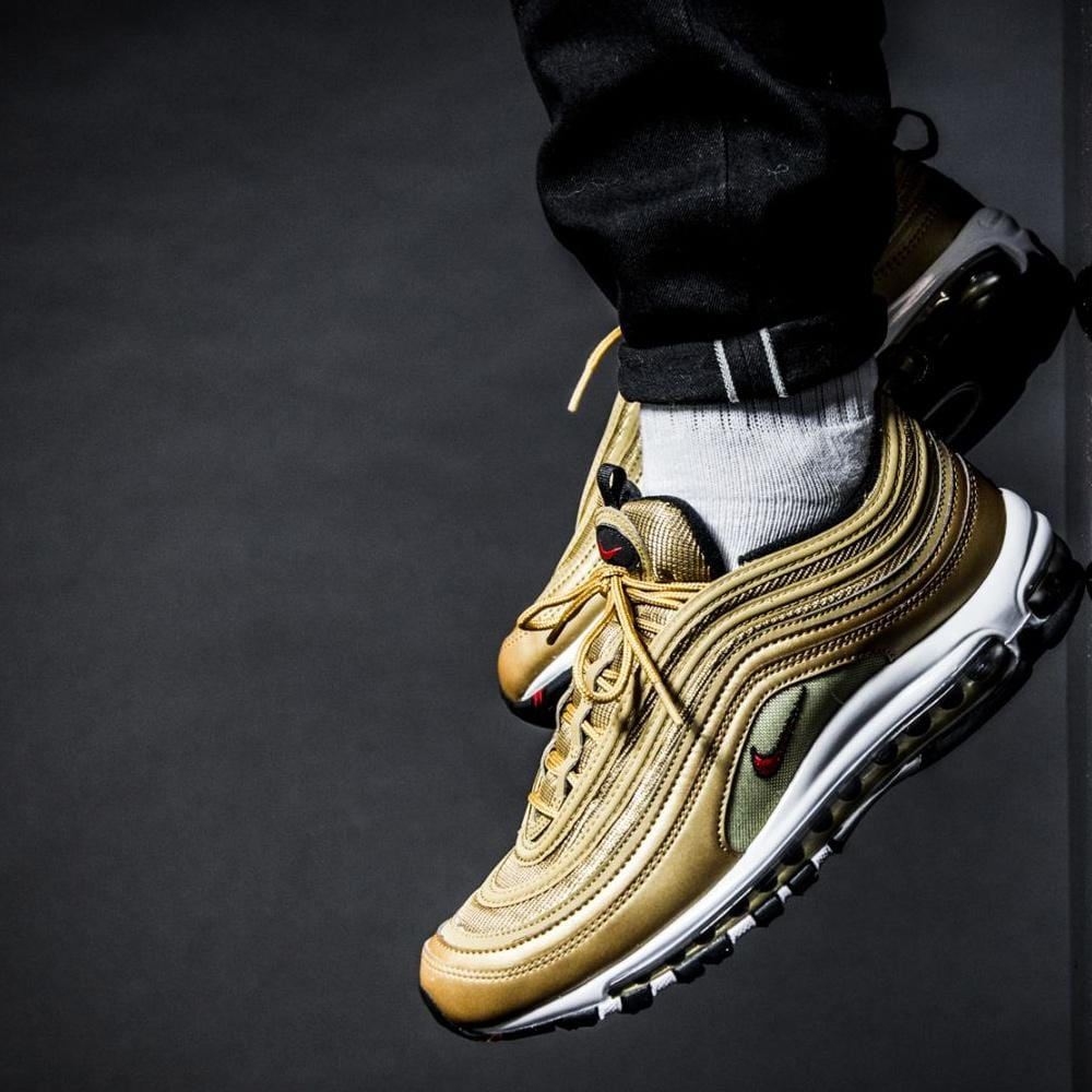 sports shoes 8e8cc 88985 Nike Air Max 97 OG QS Metallic Gold