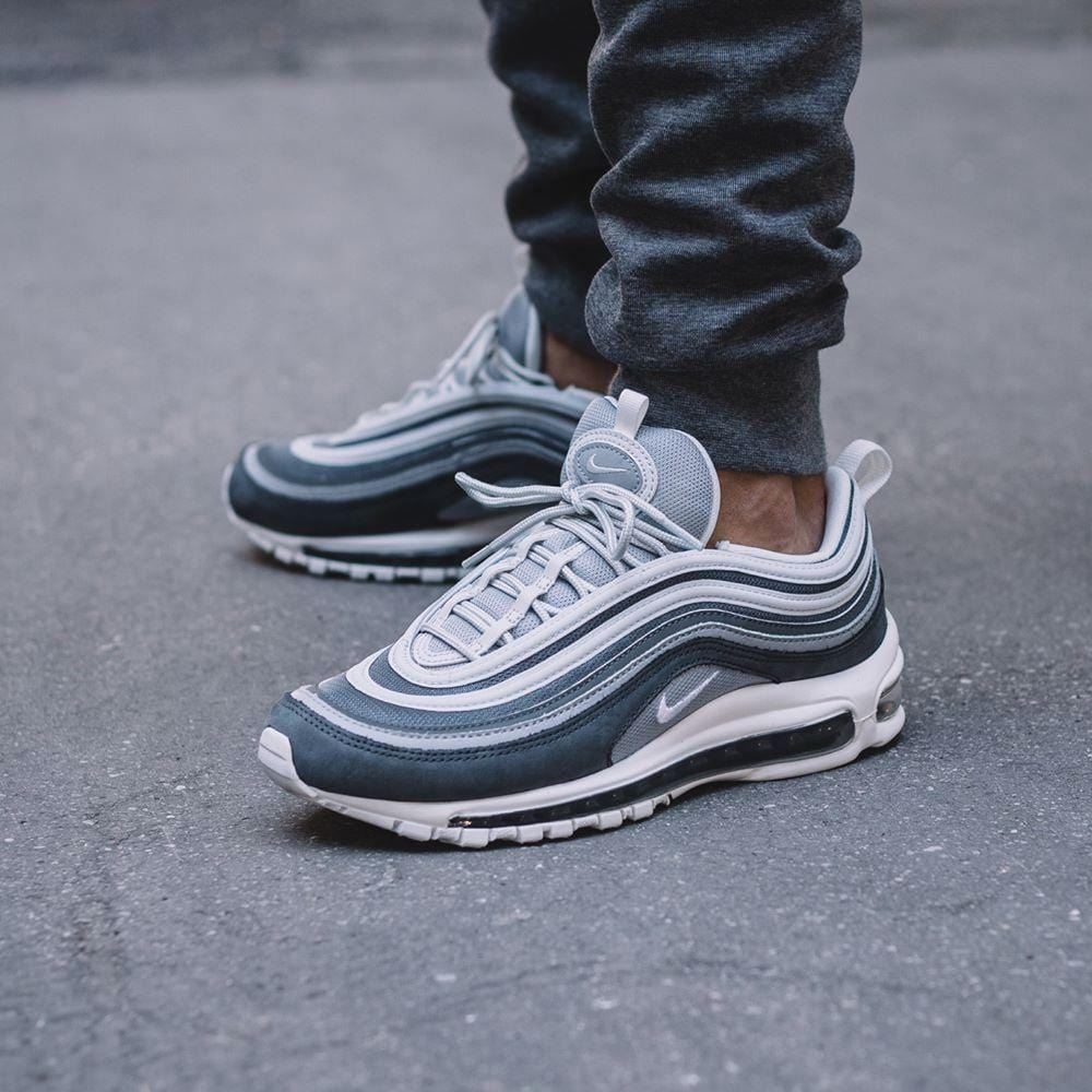 new styles f22a7 0e912 Nike Air Max 97 Premium Wolf Grey-Dark Grey