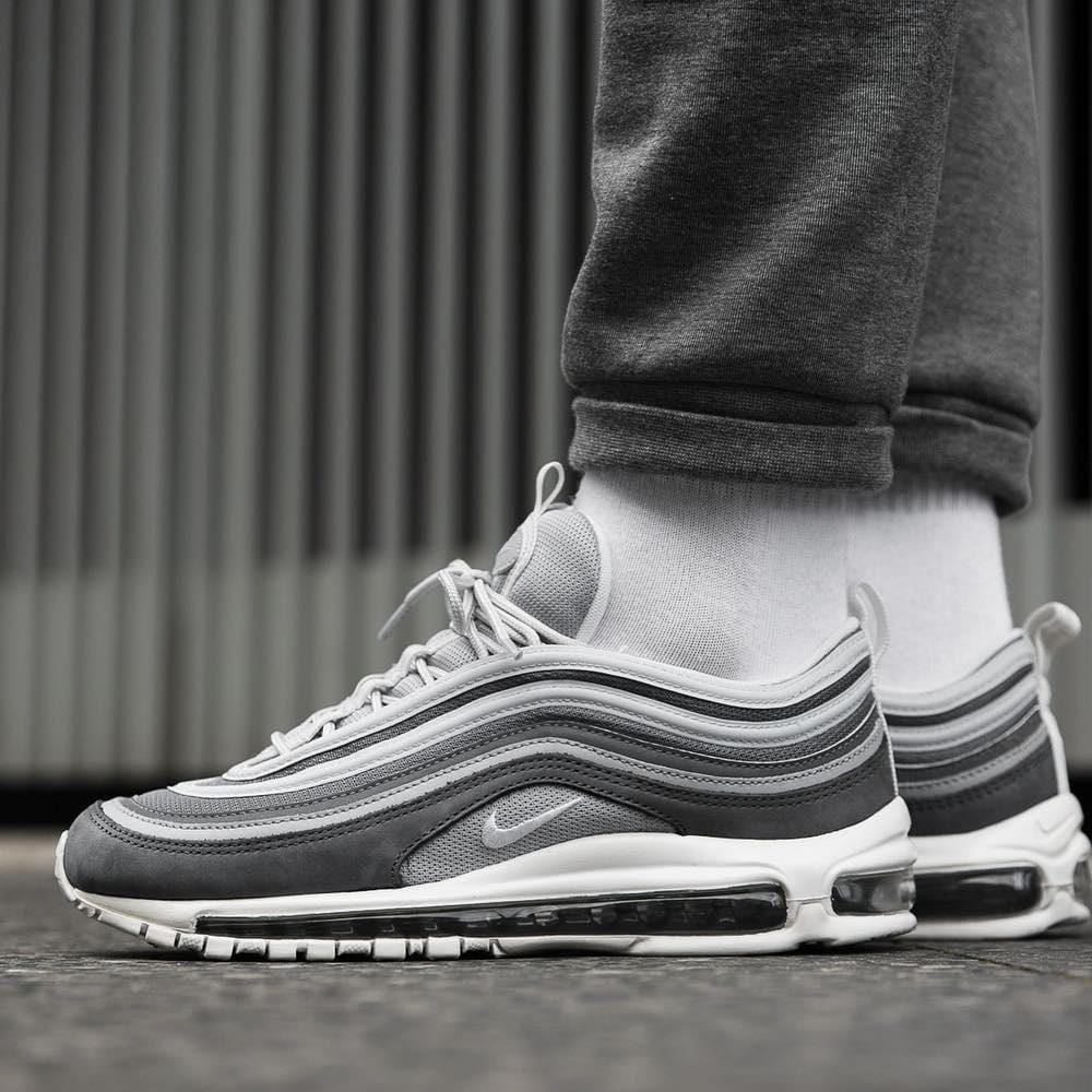 new styles e928c 4e887 Nike Air Max 97 Premium Wolf Grey-Dark Grey
