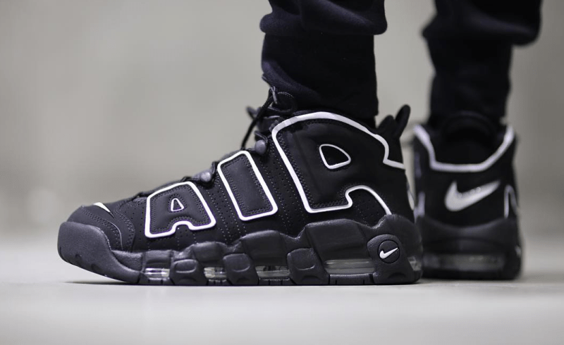 NIKE AIR MORE UPTEMPO OG Black - Kick Game