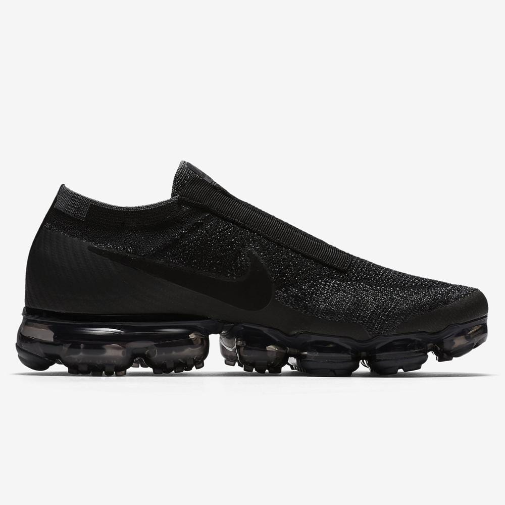 Nike Air VaporMax Flyknit SE Black-Dark Grey - Kick Game