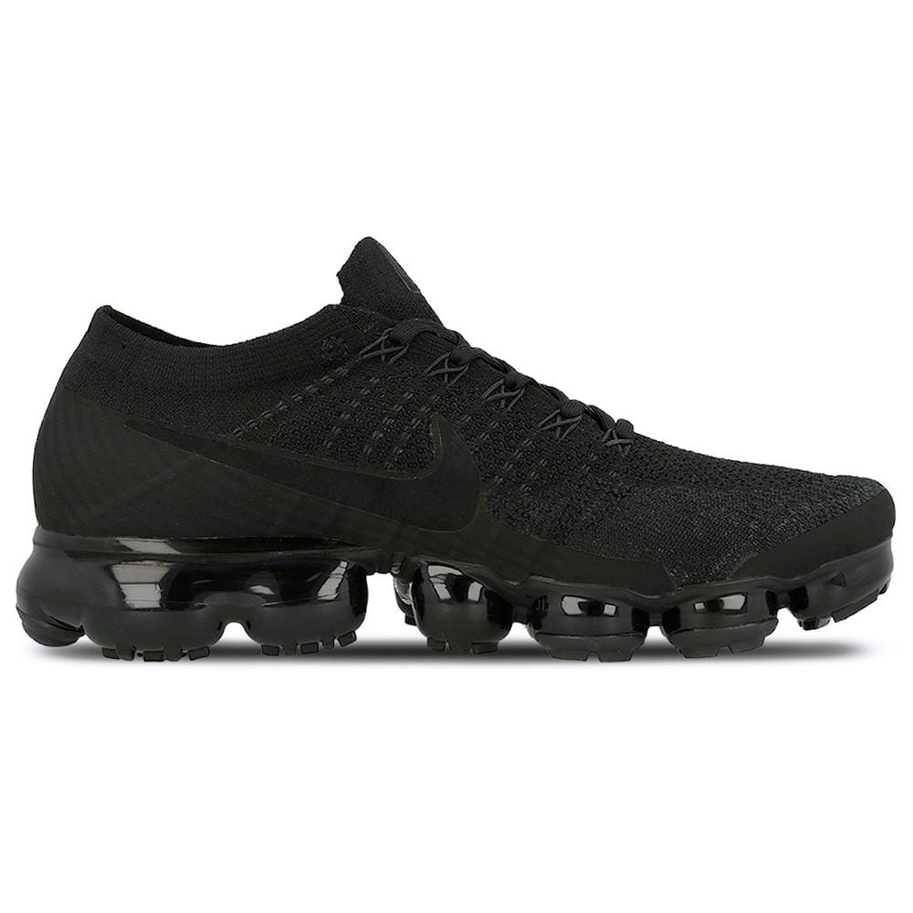 great fit 5ffc3 c1e2e Nike Air Vapormax Flyknit Triple Black 2.0
