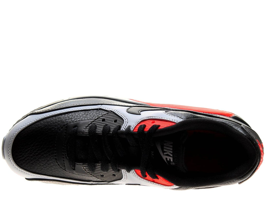 Nike Air Max 90 LTR 'Black Medium Ash Total Crimson' - Kick Game