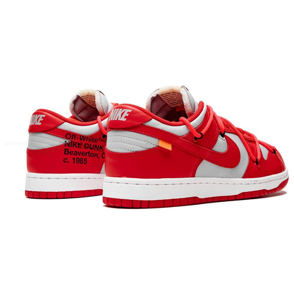 OFF-WHITE x Nike Dunk Low 'University Red' - Kick Game