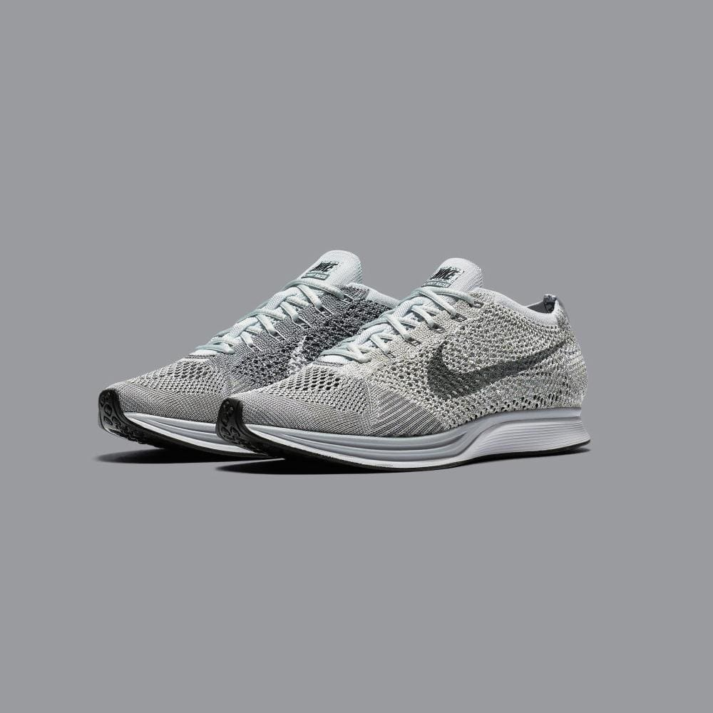 Nike Flyknit Racer Pure Platinum-Cool Grey - Kick Game