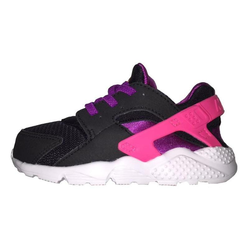 Nike Huarache Run TD Black Total Orange-Bold Berry-Pink Pow